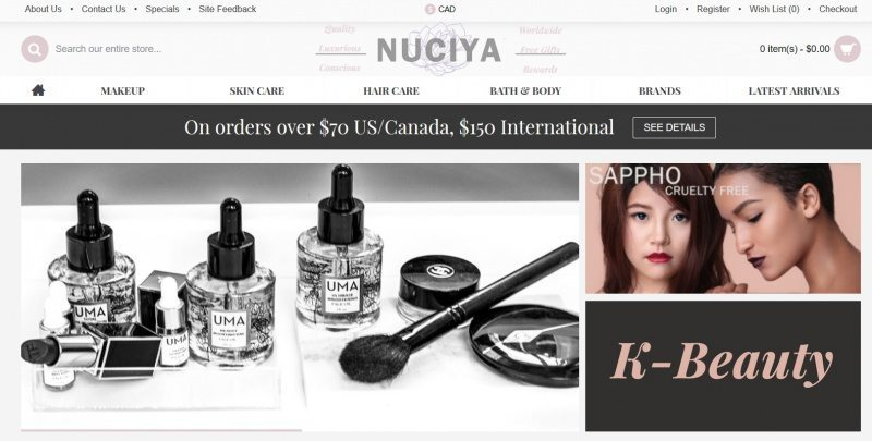 best places to shop for organic skin care - nuciya
