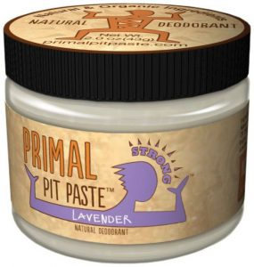 best natural deodorants - primal pit paste