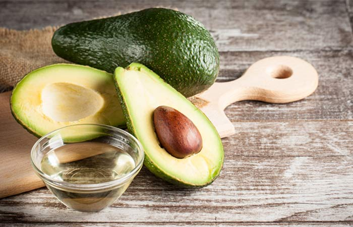 how to avocado coconut oil hair mask