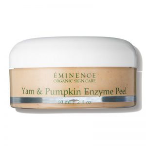 best organic chemical exfoliates - eminence yam and pumpkin enzyme peel
