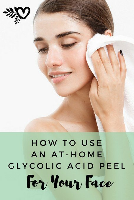 how to do glycolic acid peels at home