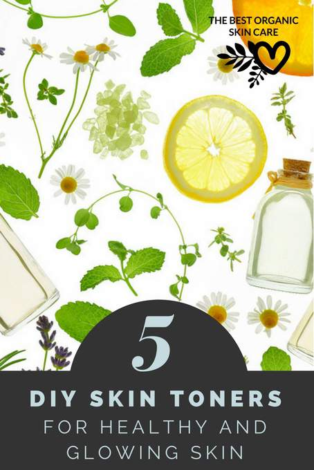 5 diy skin-toner recipes for healthy skin