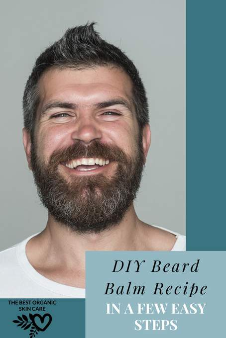 DIY Easy Beard Balm Recipe