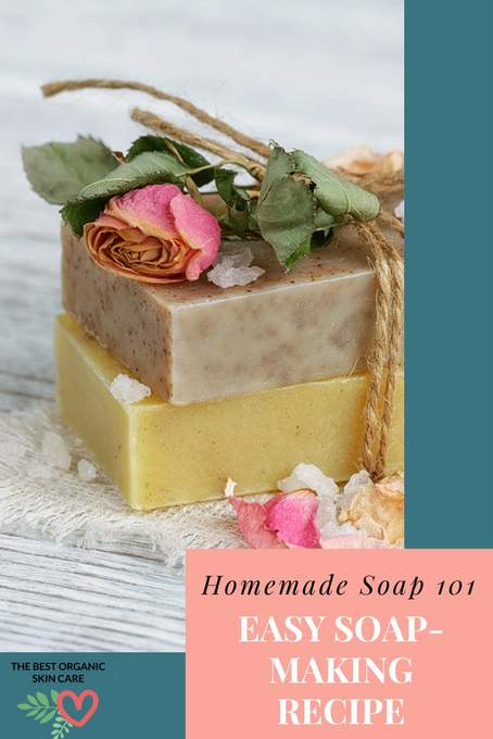 simple soap making recipe