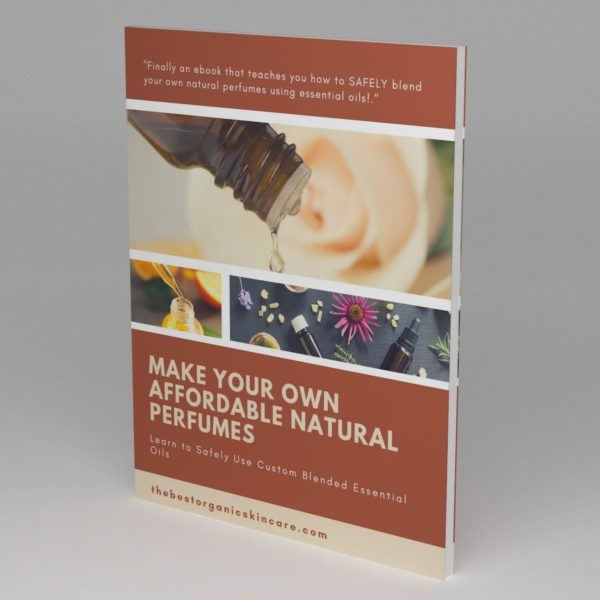Make Your Own Natural Perfumes Ebook 3D Cover