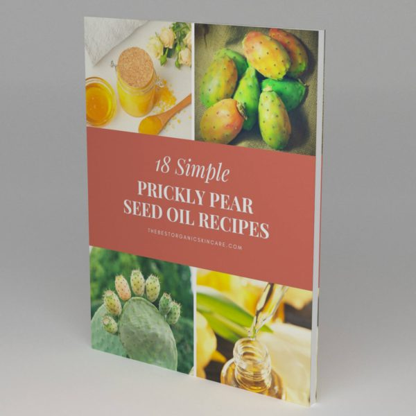 Prickly Pear Seed Oil Recipes Ebook 3D Cover