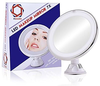 Hexada Bright LED Light Makeup Mirror