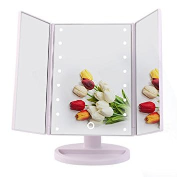 Big House Led Lighted Makeup Vanity Mirror