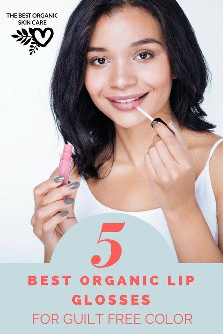 best organic lip glosses for guilt free color
