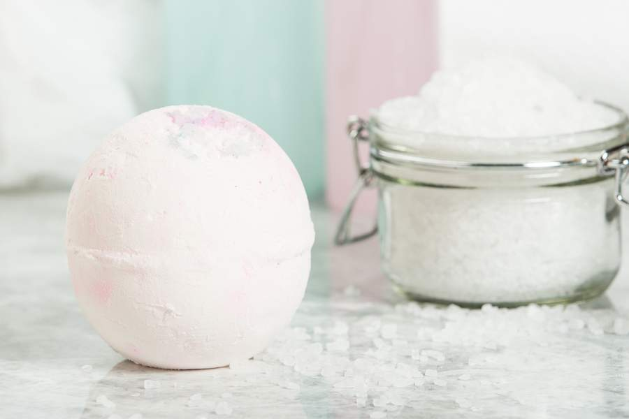 diy homemade bath bomb recipes