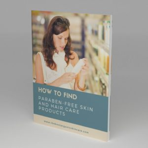 Paraben Free Skin Care Ebook 3D Cover