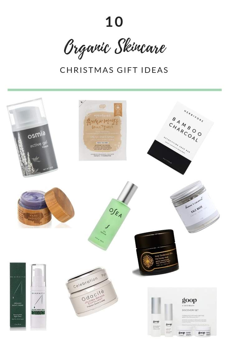 10 Perfect Organic Skincare Christmas Gift Ideas | TBOSC