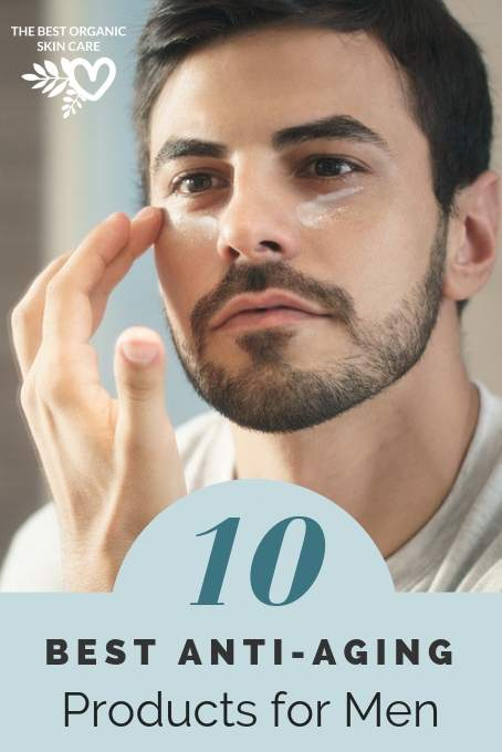best natural anti-aging products for men