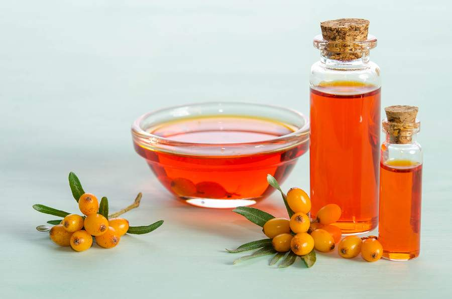 natural oils for the skin - sea buckthorn
