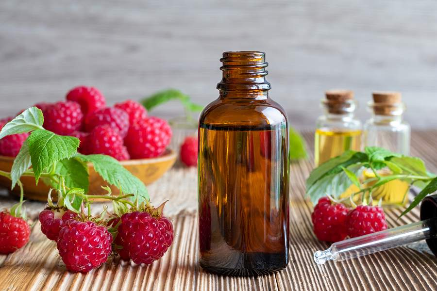 raspberry seed oil - natural oil for the skin