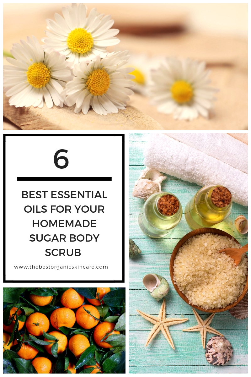 Best essential oils for sugar scrubs