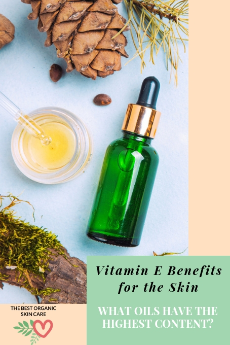 Vitamin E facial oil benefits for the skin