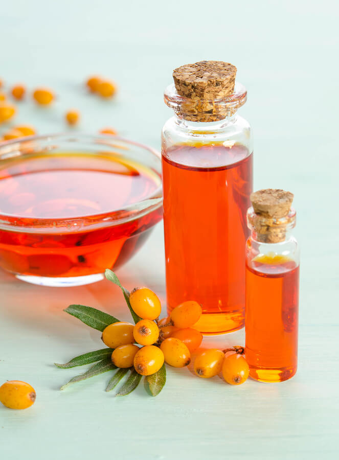 sea buckthorn seed oil vitamin e content