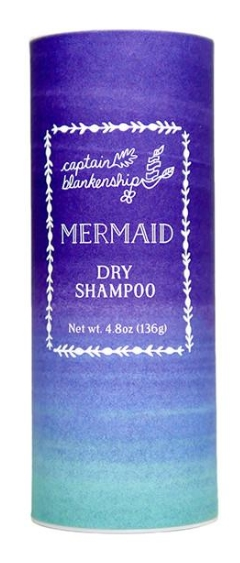Best natural dry shampoos - Mermaid Dry Shampoo