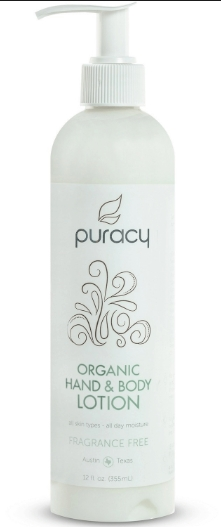 Puracy Organic Hand & Body Lotion