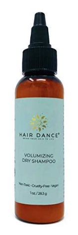 best natural dry shampoo - Hair Dance Dry Shampoo Volume Powder