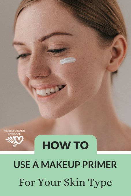 how to use makeup primer skin type
