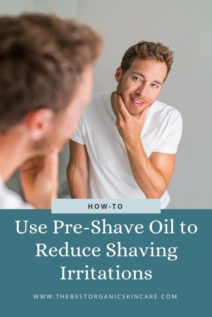 how to use pre-shave oil reduce irritation