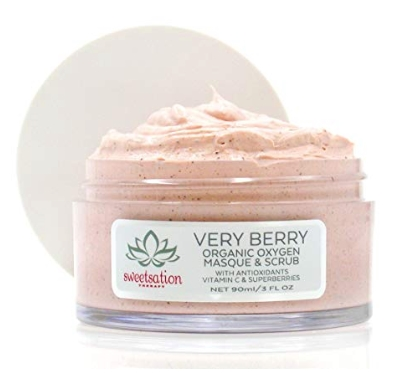 VeryBerry Organic Oxygen Masque and Scrub