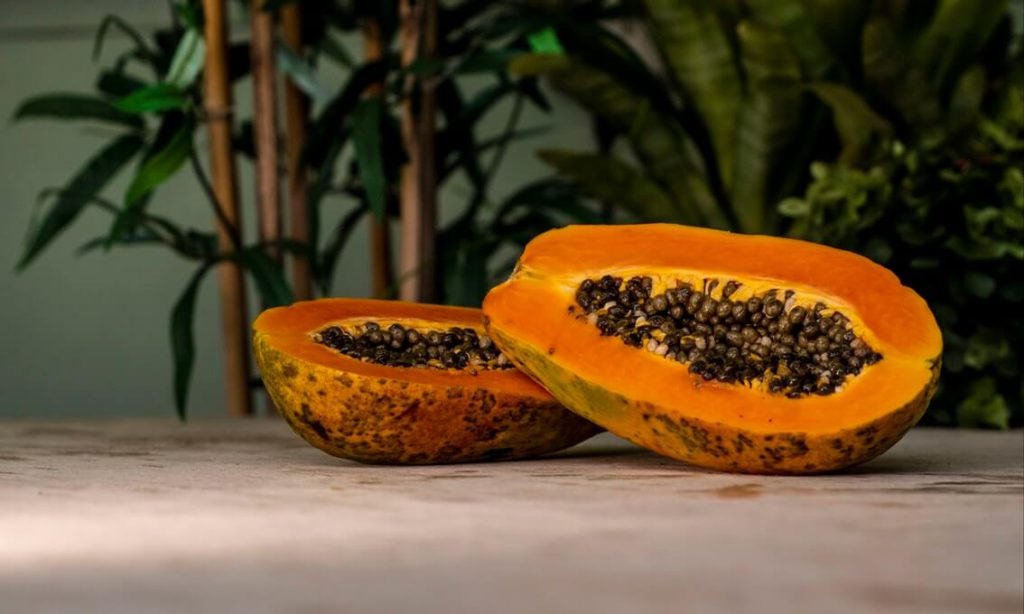 papaya enzyme scrub recipe