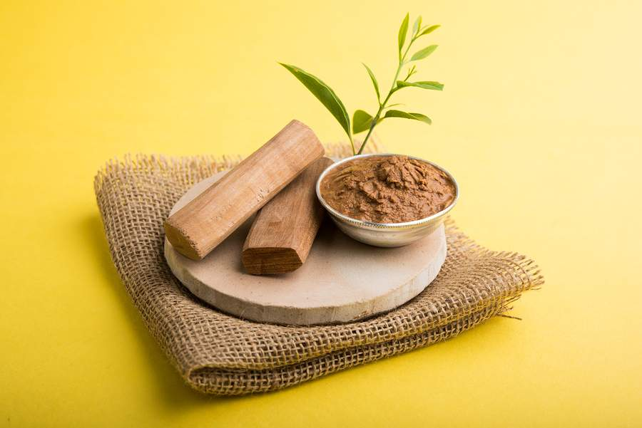 sandalwood coffee face scrub recipe