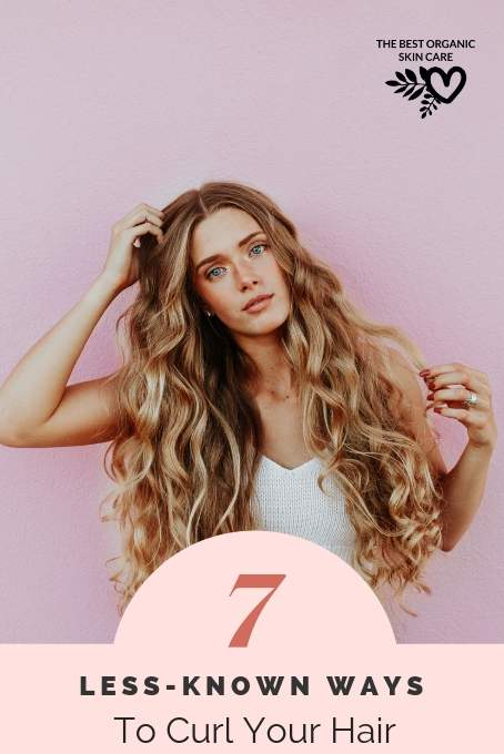 alternative ways to curl your hair without heat