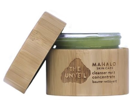 The UNVEIL cleanser melt concentrate – best organic cleansing balms