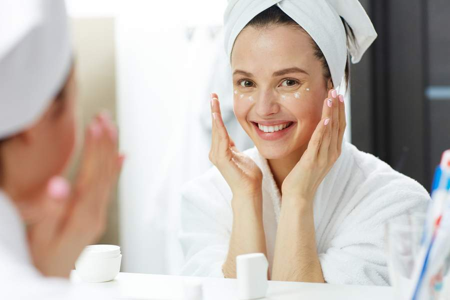 anti-aging eye care routine