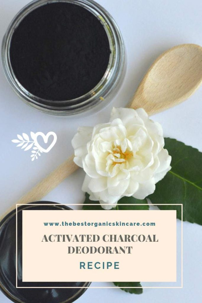 organic activated charcoal deodorant recipe