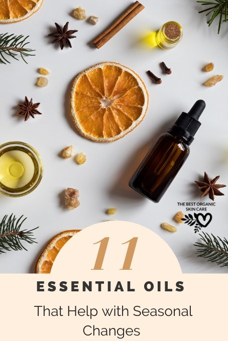 essential oils for seasonal changes
