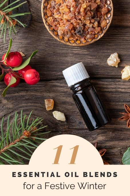 Essential Oil Blends for a Festive Winter