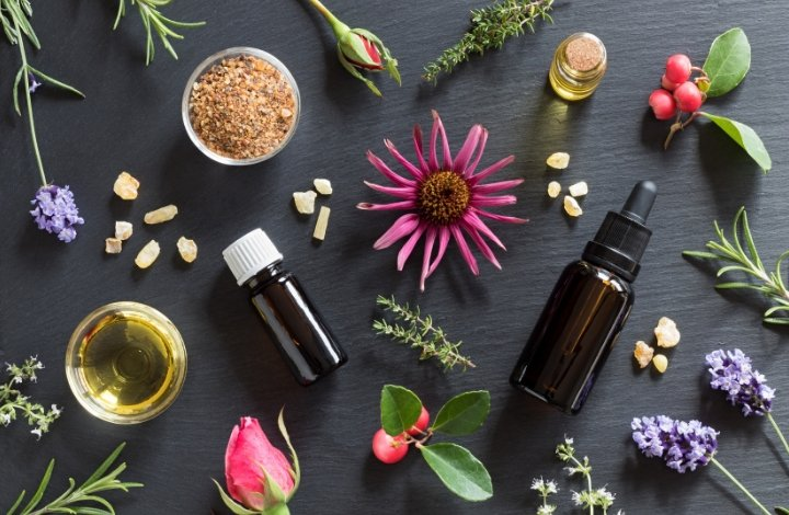 essential oil perfume blending