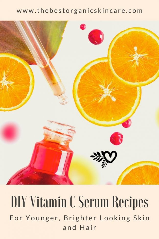 DIY vitamin c serum recipes for skin and hair