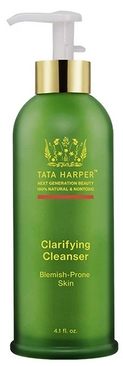 best organic cleansers for oily skin -Tata Harper - Clarifying Cleanser