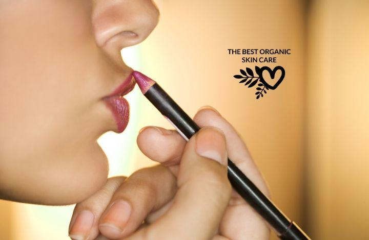best organic and natural lip liner pencils