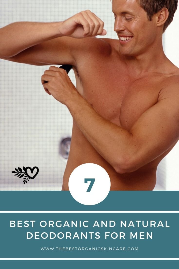 7 best organic and natural deodorants for men