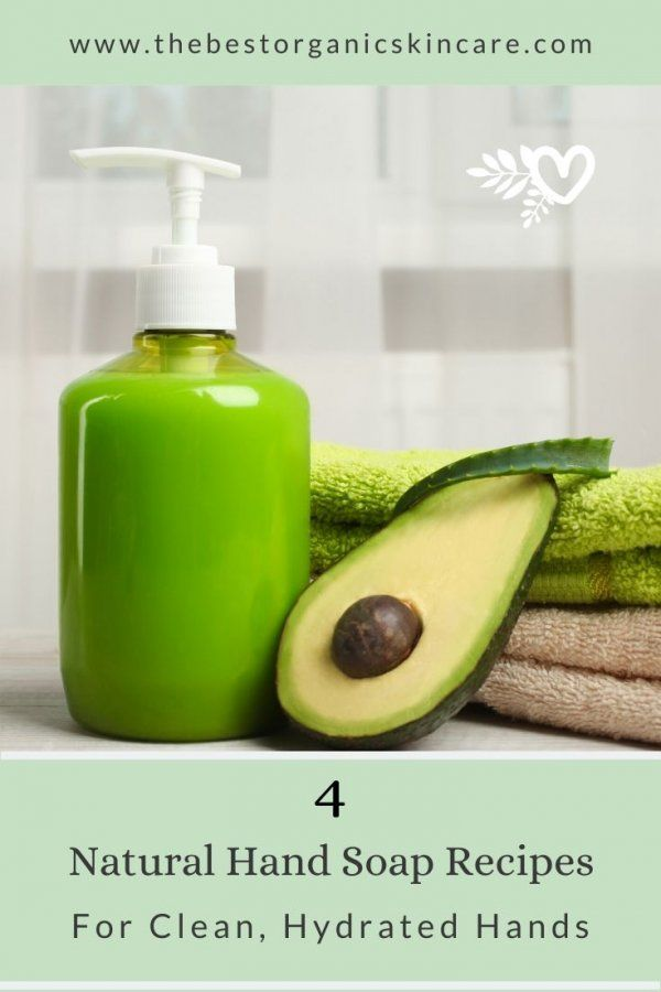 best natural hand soap recipes