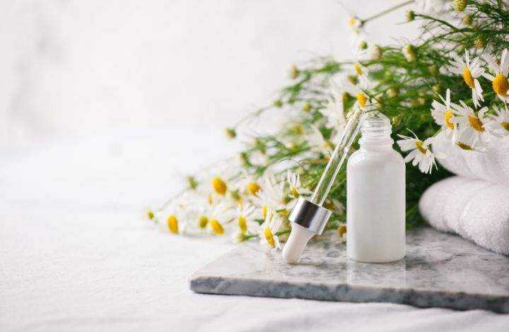 chamomile essential oil for dry skin