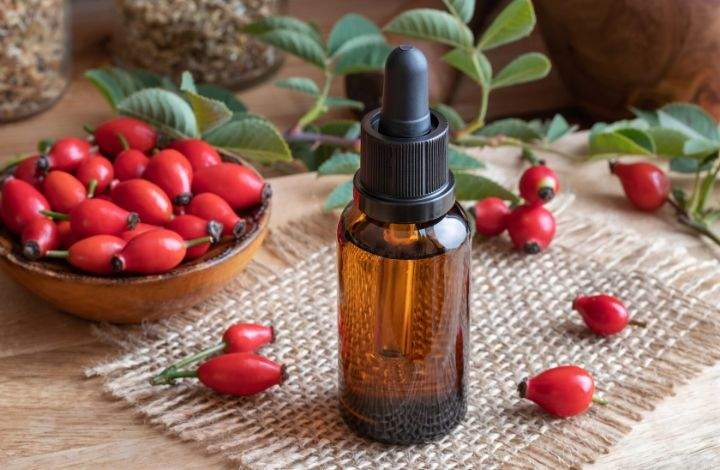 rosehip seed oil for dry skin