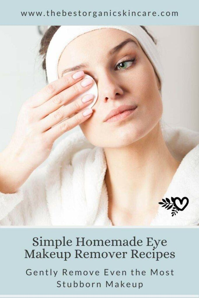 simple eye makeup remover recipes
