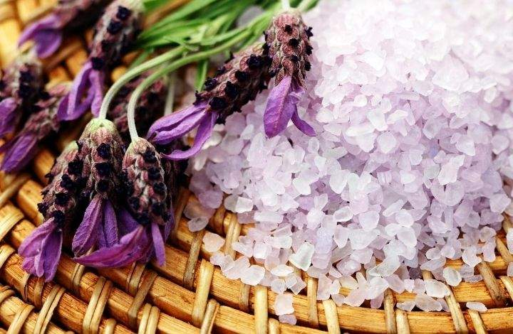 homemade natural bath salt recipes - lavender bath salt recipe