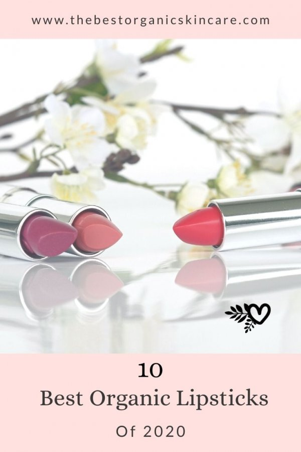 10 best organic lipsticks 2020