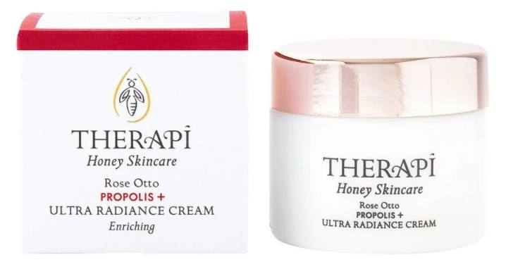Therapi Honey Skincare Rose Otto Propolis + Ultra Radiance Cream