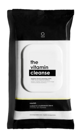 The Vitamin Cleanse Wipes